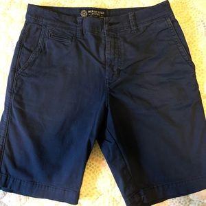 Mens AE active flex flat-front shorts